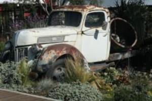 Old truck art