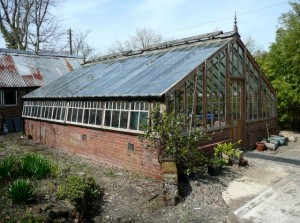 a well worn greenhouse
